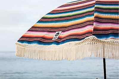 Cute Beach Umbrella Total Chic and Unique Designed in Laguna Beach California