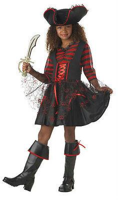 Girls California Costumes Cap'n Cutie Pirate Captain Child Costume Medium 8-10 - Pirate Cutie Costume