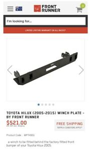 Toyota Hilux 2005-15 Front Runner Winch Cradle