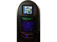 SOUND LEISURE Music Express Freestanding digital touchscreen jukebox 20,000+ songs preloaded