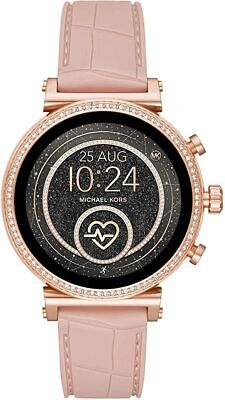 Michael Kors Access Sofie Rose Gold Heart Rate Touchscreen Smart Watch MKT5068J