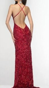 Beautiful Red Evening Gown
