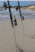 """Beach King"" Fishing Rod & Drink Holders"