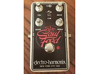 UNOPENED EHX Soul Food Bass Distortion Pedal