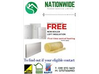 ***FREE BOILER LOFT INSULATION AND FIRST TIME HEATING GRANT AVAILABLE***