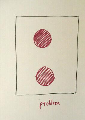 A.R. PENCK - Handsiebdruck von 1991 Auflage 200 auf 140 g Werkdruck-Papier