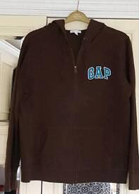 Brown GAP hoodie size XL