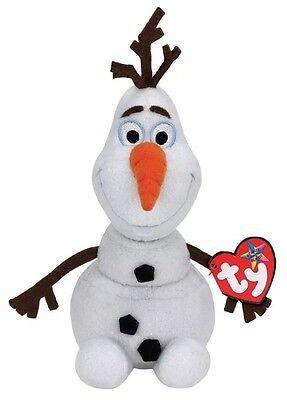 Ty Medium Olaf from Disney's Frozen Beanie Babies Stuffed Plush Toy