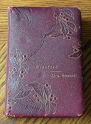 1892 Cranford by Mrs. Gaskell - VERY RARE VERSION WITH THIS COVER & PUBLISHER