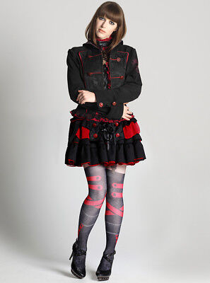 D.gray-man h.NAOTO Lenalee Lee Gothic Skirt Rubber Free Size Cosplay Anime Rare for sale  Shipping to United States