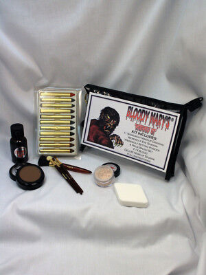 Halloween Character Werewolf Makeup Kit By Bobbie Weiner aka  Bloody Mary. - Bloody Halloween Makeup