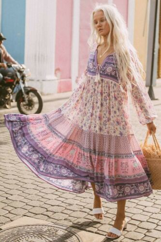 Spell And The Gypsy Collective – Portobello Road Boho Gown. Size Large.