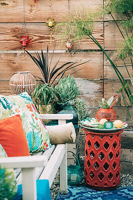10 Ideas For Decorating A Vibrant Bohemian Patio | eBay on Patio Cover Decorating Ideas id=34161