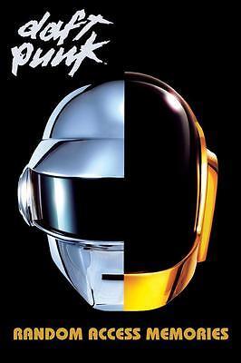 Daft Punk RANDOM ACCESS MEMORIES Large 24 x 36 MUSIC POSTER  segunda mano  Embacar hacia Argentina