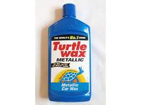 Turtle Wax Metallic/Pearlised car wax. 500ml bottle. Only while stocks last!