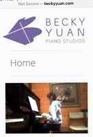 Piano Lessons- highly recommend teacher