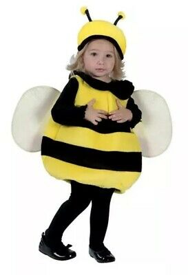 Bumble Bee Toddler Halloween Costume size 24 Months 12-24m](12-24 Month Halloween Costumes)