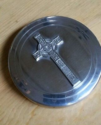 Celtic Cross Trinket Box 90mm x 25mm , Edwin Blyde & Co. Celtic Cross Trinket Box