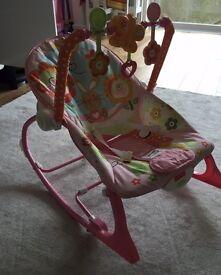 Baby to toddler seat