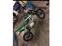 Super stomp 125 pitbike