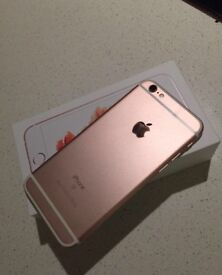 iPhone 6s rose gold 32 g on EE two months old