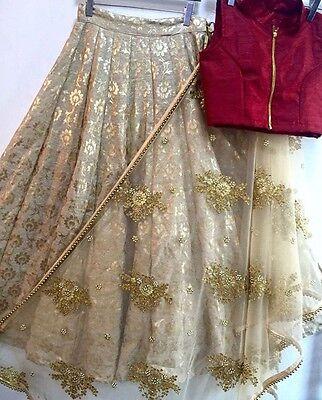 Bollywood Ethnic Designer Party Wear Women New Lehenga Indian Pakistani Saree