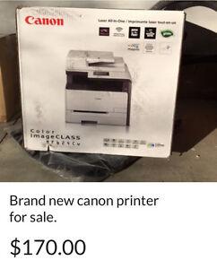 Brand new canon printer for sale.