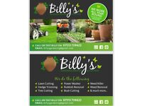 Billy's gardening services