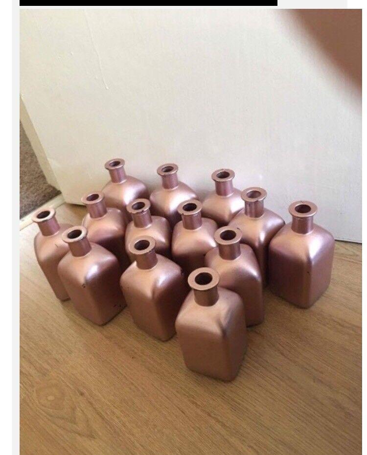 Wedding table flower jars
