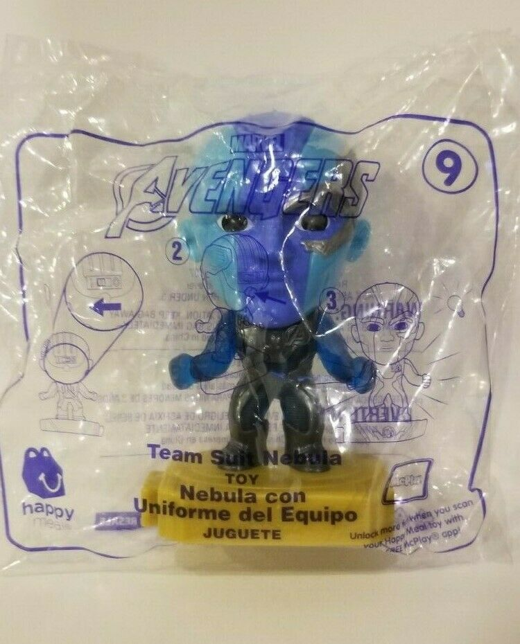 Avengers (2019) McDonalds Happy Meal Toys- Fast Shipping! #9 Team Suit Nebula