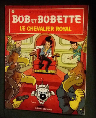 Bob et Bobette 324 EO Le Chevalier royal Vandersteen Standaard