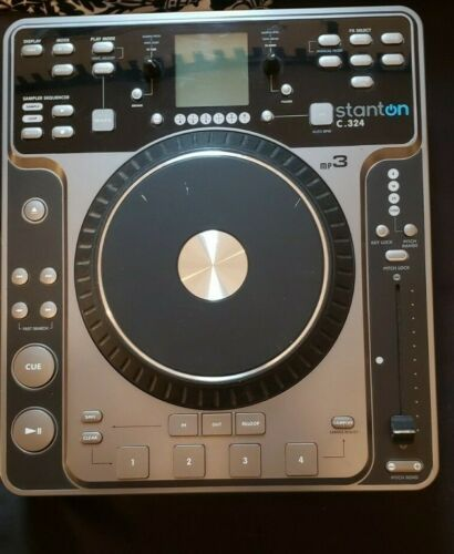 Stanton C.324 Table Top CDJ MP3 Player(USED-FOR PARTS OF NOT WORKING)