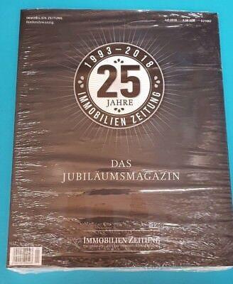 Immobilien Zeitung Juli 2018 Jubiläumsausgabe ungelesen 1A abs. TOP