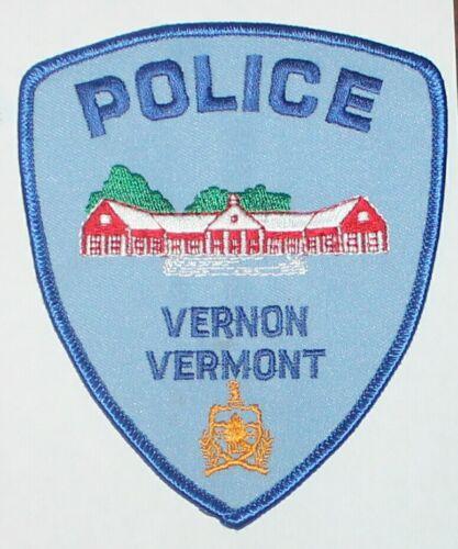 VERNON POLICE Vermont VT PD patch