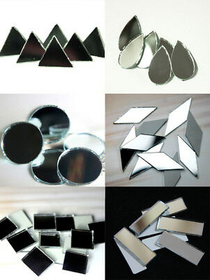 Craft Sheesha Mirrors Pieces for Embroidery Craft and DIY Purpose Shisha Mirrors - Mirror Pieces