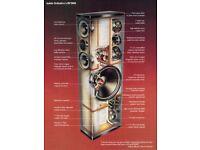 "Definitive Technology BP-2000 Huge floor-standing speaker with 15"" subs"
