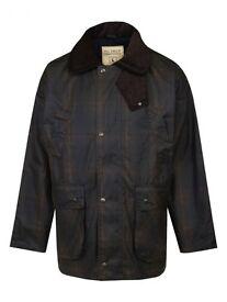 Like new J P Fields padded waxed jacket