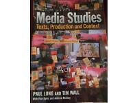 Media studies texts production context
