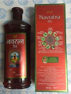 AYURVEDA 300 ml NAVRATNA HERBAL OIL FOR STRESS MASSAGE HAIR LOSS