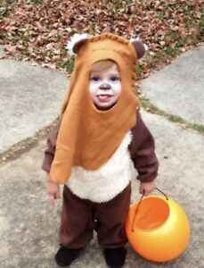Wicket Ewok toddler costume, size 1-2 years