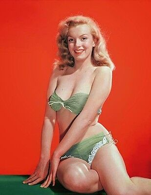 Marilyn Monroe   Great Color Photo Of Marilyn From The 1940S   1