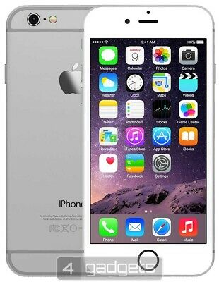 Apple iPhone 6 - 64GB - Silver/White (Unlocked) A1586
