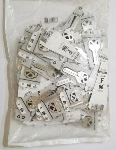 120 NEW Hillman 88250 #66 Home/Office Key Blanks Kwikset Key Cassette F