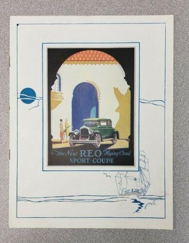 1928 REO Flying Cloud Sales Folder