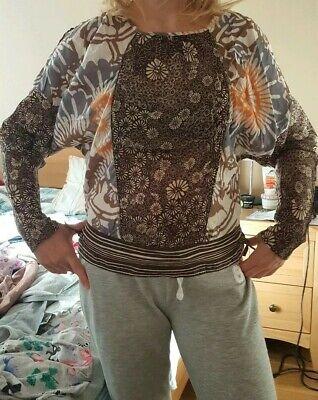 isabel marant etoile blouse size uk 8-10