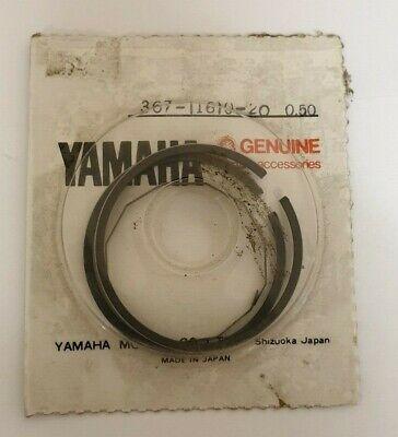 GENUINE <em>YAMAHA</em> PISTON RINGS 05MM 80CC TY 80 PART NUMBER 367 11610 2
