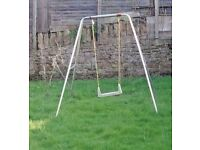 Children kids toddlers outdoor GARDEN SWINGS * £8 only * collection from BOBBERSMILL NG7 5QZ