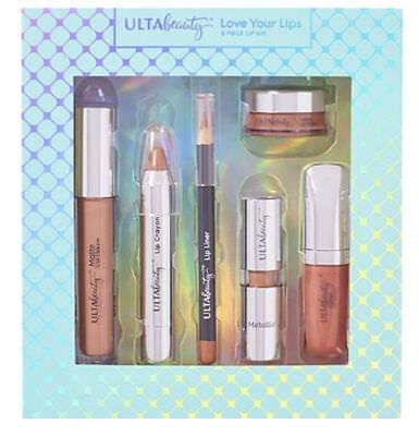 New  Ulta Love Your Lips Makeup Set 6 Piece Set Kit Bnib