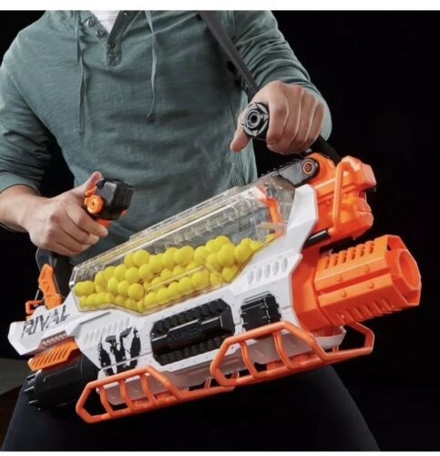 NEW Nerf Toy Rival Blaster Gun Prometheus MXVIII-20K  200 X