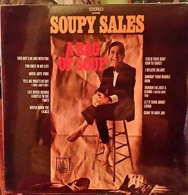 SOUPY SALES A BAG OF SOUP VINTAGE RECORD ALBUM SEALED COMIC MUSIC LP MOTOWN 1969 (Music Record Sales)